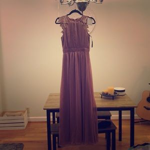 Long formal dress, perfect for weddings!